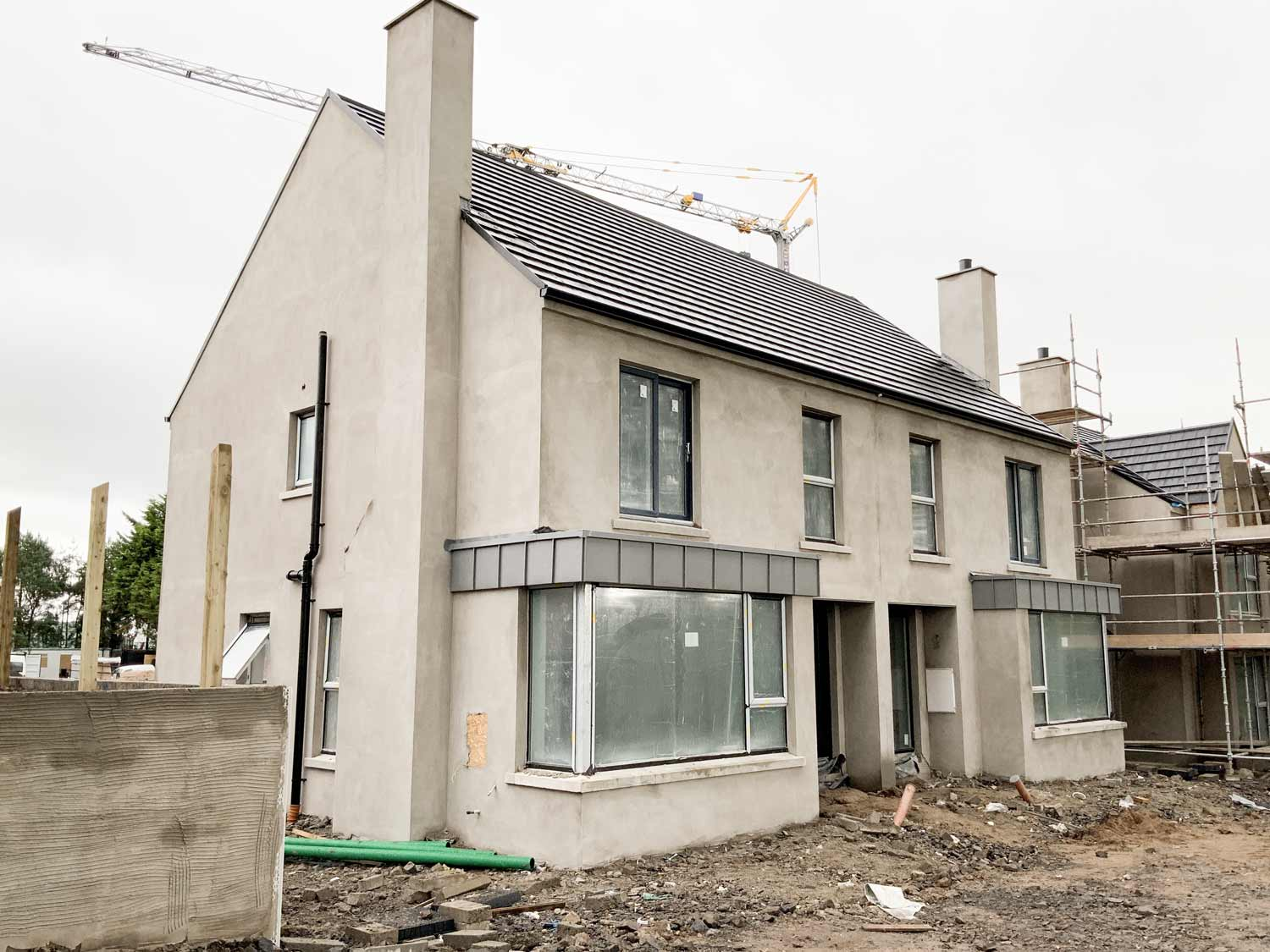 Construction at Portstewart Road