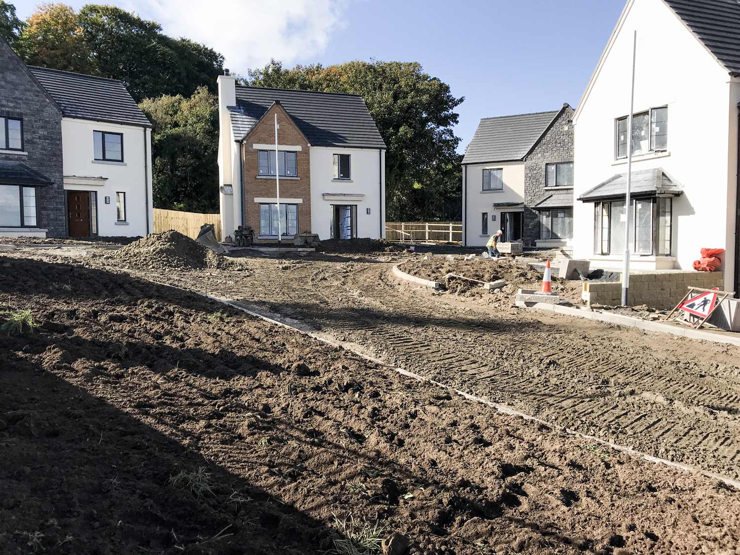 A 255 Home Development starts in Newry