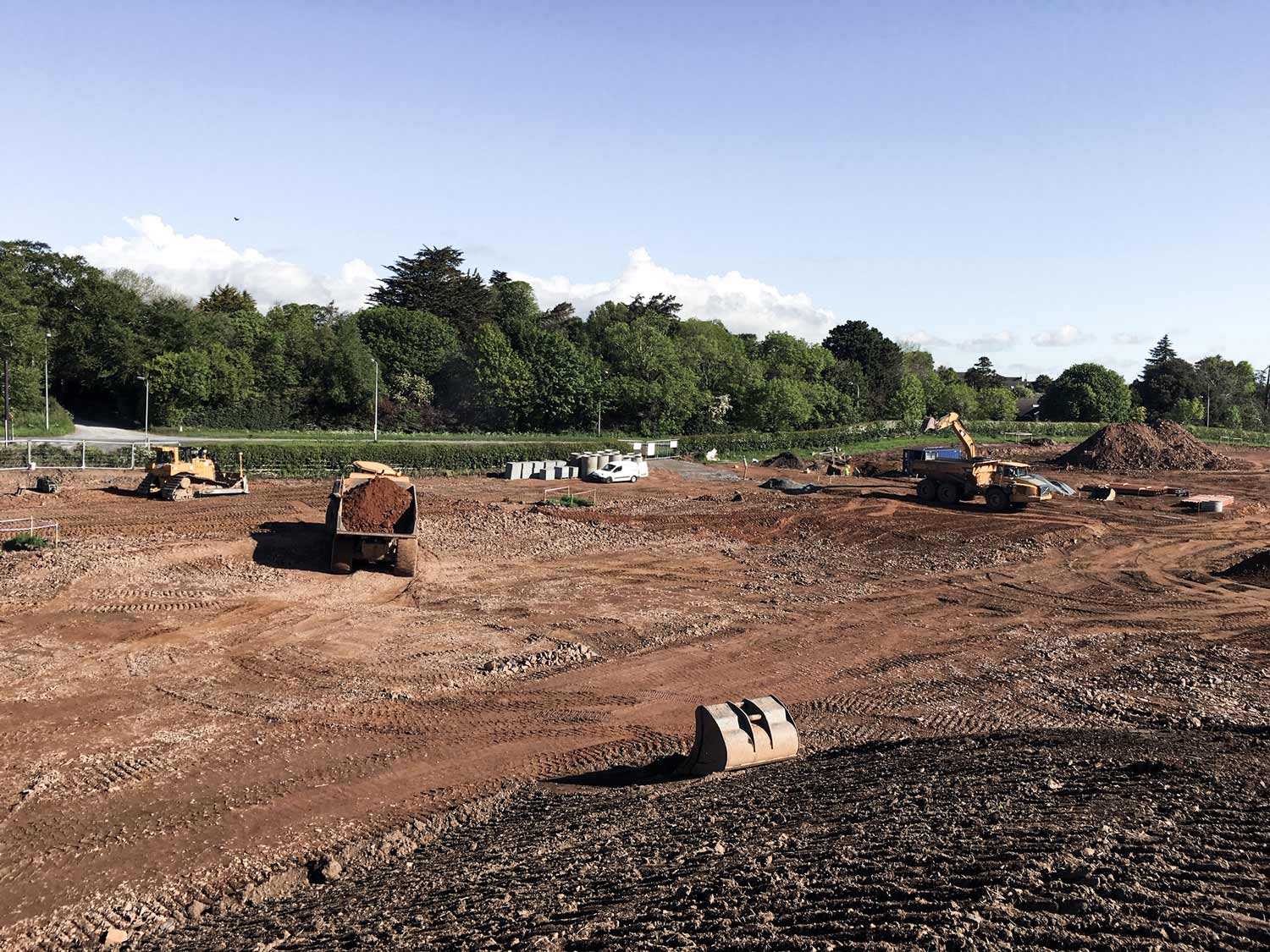 A 70 Home Development, Begins in Comber
